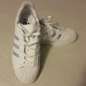 Adidas Superstar J side 5 1/2